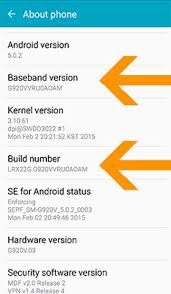 android software versions which version of the android platform does my samsung galaxy note