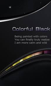go theme launcher apk colorful black go theme apk 1 0 colorful black go theme
