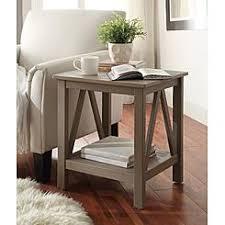 linon home decor products inc walt walnut gray bar stool linon furniture kmart
