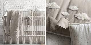 Grey And White Crib Bedding Nursery Collections Rh Baby U0026 Child