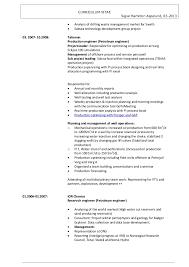 petroleum engineer resume cv president sigve hamilton aspelund 032013