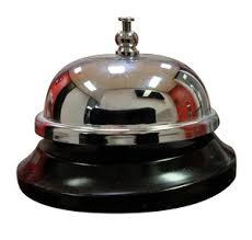 Front Desk Help Service 3d Word Beside A Bell To Call For Help Or Assistance At A