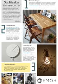 about emoh modern wood furniture u0026 nordic home decor