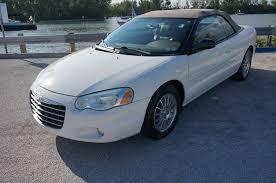 2004 Chrysler Sebring Convertible Interior 2004 Chrysler Sebring Lxi 2dr Convertible In Hollywood Fl E Motors