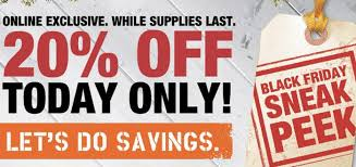 home depot black friday artifical trees home depot 20 off online today only saving the family money