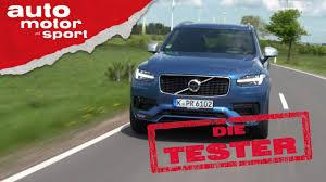 Volvo Baden Baden Volvo Xc90 D5 Blaues Wunder Die Tester Auto Motor Und Sport