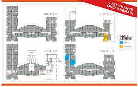 787 Floor Plan by Suite Availability The Sorrento