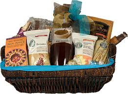 coffee baskets starbucks coffee gift basket coffee basket with starbucks