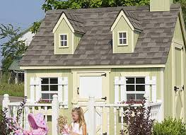 100 backyard cottage kits playhouse kits to buy and build