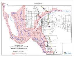 Estero Florida Map by Lee County Expands Mandatory Evacuation Zones Wgcu News