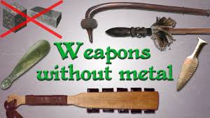 weapons without metal far from primitive youtube