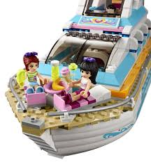 amazon com lego friends dolphin cruiser building set 41015