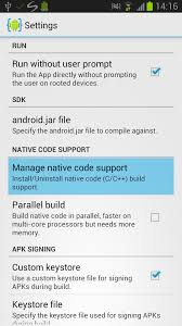 aide apk android ndk tutorial aide android ide