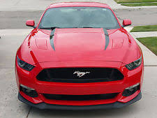 Black Mustang With Pink Stripes Mustang Stripes Graphics Decals Ebay