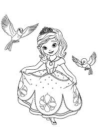 sofia coloring pages princess amber coloringstar