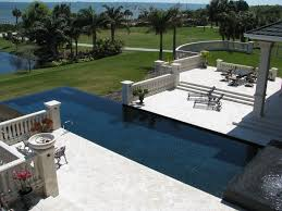 Infinity Pool Backyard by Pool Design Glamorous Home Swimming Pool In The Backyard With