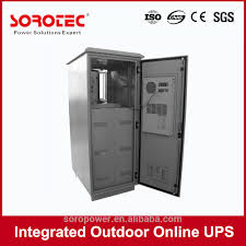 intelligent rack mount battery cabinet ups outdoor ups with