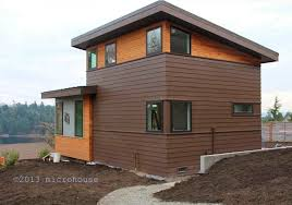Prefab Backyard Cottage Seattle Backyard Cottage Modern Micro House Home Design Ideas