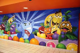 custom made elementary lunch room wall murals school pinterest custom made elementary lunch room wall murals