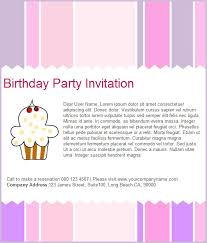 free email birthday party invitation templates email invitation