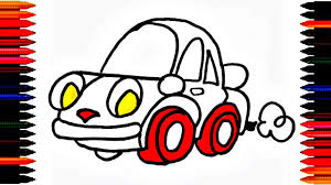 kid car drawing colours for kids car coloring pages how to color car drawing car