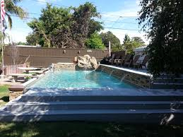 Deep Backyard Pool by Islander Inground Pools Secard Pools