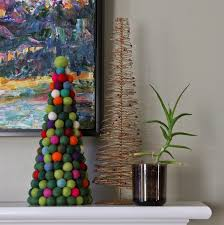 without a doubt a pinterest christmas felt ball christmas tree