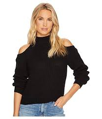 bb dakota by bb dakota mai cold shoulder turtleneck sweater at 6pm