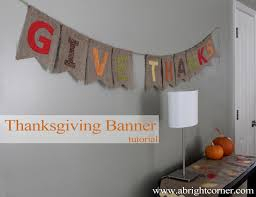 burlap thanksgiving banner fabric mill tutorial burlap thanksgiving banner