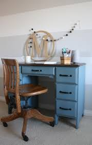 Beautiful Desk Beautiful Blue Desk Guest Post Country Chic Paint
