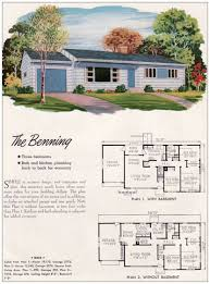 50s ranch house floor plans luxihome
