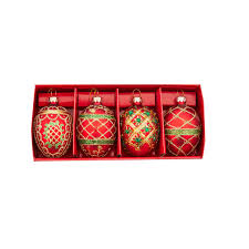 traditional ornaments boxed set of 4 bombay canada