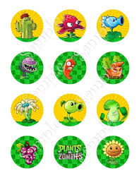 Plants Vs Zombies Cake Decorations Awful Plants Vs Zombies Cake Toppers And Delicious Ideas Of Vs