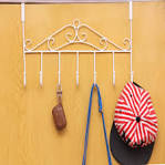 Image result for stainless steel over the door purse hanger