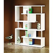Coaster Corner Bookcase Amazon Com Coaster Home Furnishings Modern Contemporary 10 Shelf