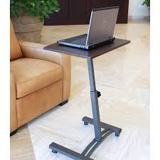 Laptop Desk Seville Classics Mobile Laptop Desk Cart Walmart
