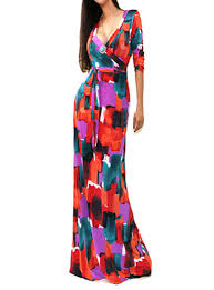 floor l with adjustable neck dress floral print multicolored short sleeve floor length