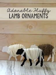 how to make fluffy sheep ornaments everyone will