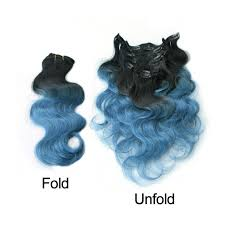 ombre clip in hair extensions clip in blue ombre clip human hair extensions black ombre blue