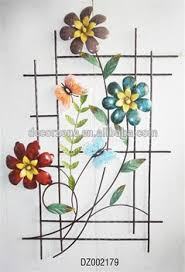 Metal Flower Wall Decor - 3d metal flower wall decor buy metal flower wall decor 3d wall