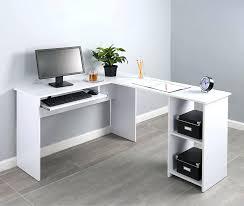 Ameriwood Corner Desk Ameriwood Dover Desk L Shaped Computer Desk In Salt Oak Ameriwood