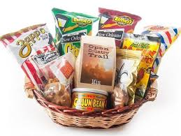 snack basket snack basket cajun gift baskets new orleans gift baskets