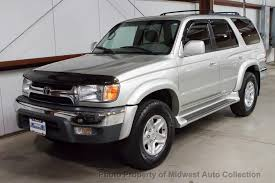 used 2001 toyota 4runner 2001 used toyota 4runner sr5 one owner at midwest auto collection