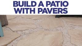 Patio Brick Pavers How To Build A Brick Paver Patio Hgtv