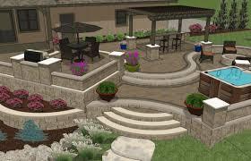 patio u0026 pergola beautiful patio ideas simple deck designs