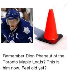 reebok remember dion phaneuf of the toronto maple leafs this is him