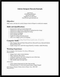 Resume Sample Interior Designer by Caregiver Resume Resume For Your Job Application