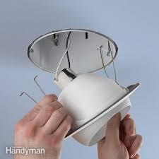eyeball light bulb replacement upgrade a recessed light fixture family handyman