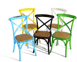 Cross Back Bistro Chair Chairs Chairs Resin Bistro Av Party Rental Stirring Chair Photo