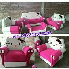 hello sofa jual kursi tamu sofa motif hello dengan harga murah
